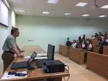 Открытая лекция Вадима Викторовича Журавлёва
